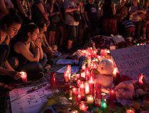 Barcelona Candles Vigil