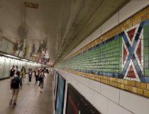 NYC Subway Confederate Flag Tiles