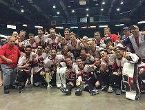 Edmonton Savages ball hockey