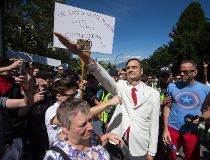 Vancouver Racism Rally Clash