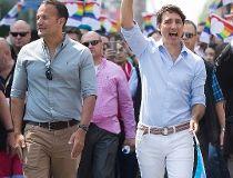 Justin Trudeau Leo Varadkar Aug. 20/17