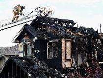 Fire guts home in southwest Edmonton