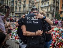 Barcelona policeman