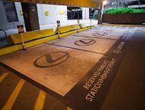 Calgary Airport Lexus Parking