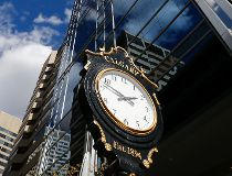 Clock in Calgary