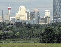Calgary Skyline/Housing Market recovering