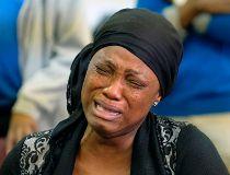 Church mourner