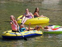 Hot summer rafting calgary 2017