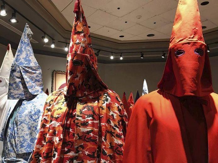 College deems art show with KKK robes too disturbing for public