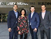 Four new councillors