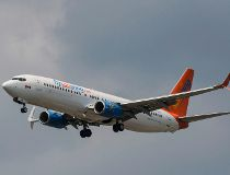A Sunwing Boeing 737-800
