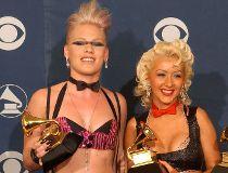 Pink and Christina Aguilera