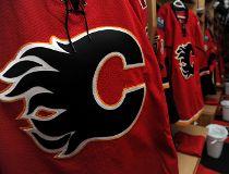 Calgary Flames dressing room 2